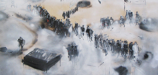Marc Laberge - Procession