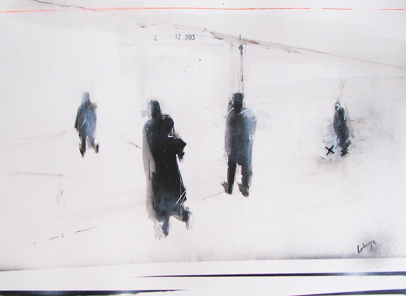 Transit par Marc Laberge