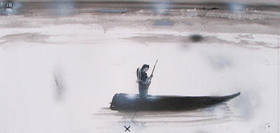 Marc Laberge - La barque solaire / Solar boat