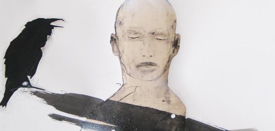 Le messager - Marc Laberge- artiste peintre quebecois / Canadian painter